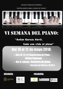 CARTEL VI SEMANA PIANO